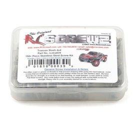 RCZTRA039  RC Screwz Traxxas Slash 4x4 Stainless Steel Screw Kit