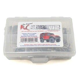 RCZTRA081  RC Screwz Traxxas TRX-4 Stainless Steel Screw Kit
