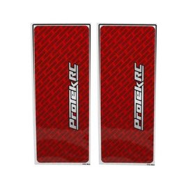 Protek RC PTK-1102-RED  ProTek RC Universal Chassis Protective Sheet (Red) (2)