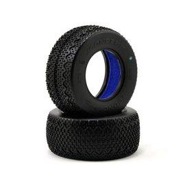 J Concepts JCO3061-02  JConcepts 3D's Short Course Tires (2) (Green)