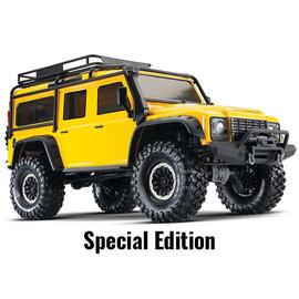 Traxxas TRA82056-4  Yellow TRX-4 1/10 Crawler Defender Land Rover
