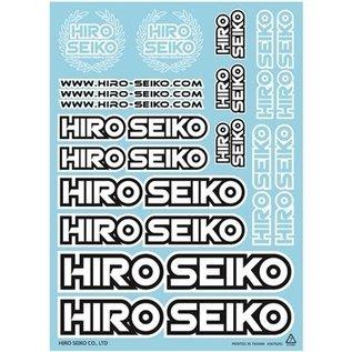 Hiro Seiko 69929  Team Hiro Seiko Sticker Sheet