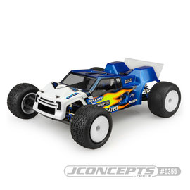 J Concepts JCO0355L  JConcepts T6.1 F2 Finnisher Body (Clear) (Light Weight)