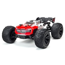 Arrma ARA102690  Red 1/10 KRATON 4x4 4S BLX Brushless Monster Truck with Spektrum RTR