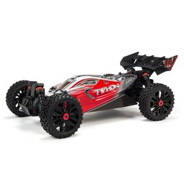 Arrma ARA102722  Red 1/8 TYPHON 3S BLX 4WD Brushless Buggy with Spektrum RTR