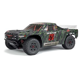 Arrma AR102673  Black/Green 1/10th Senton 6S BLX 4WD Brushless Short Course RTR ARAD83LG