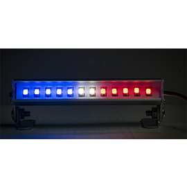 "Common Sense RC LED-BAR-3P  LED Light Bar - 3.6"" - Police Lights (Red, White, and Blue lights)"
