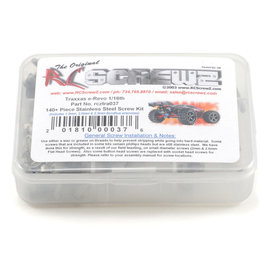 RC SCREWZ RCZTRA037  RC Screwz Traxxas 1/16th E-Revo Screw Set