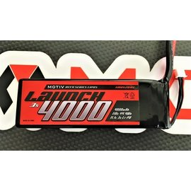 MOTIV MOV2095  Motiv 3S 11.1v 4000mAh 110c LiPo Launch Long Drag Pack (No Plug)