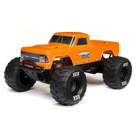 ECX ECX03048T2  Orange 1/10 Amp Crush 2WD Monster Truck Brushed RTR