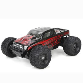 ECX ECX01000T1  Black/Red 1/18 Ruckus 4WD Monster Truck RTR