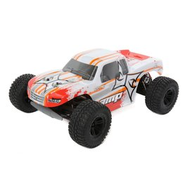ECX ECX03028T1  White/Orange 1/10 AMP MT 2WD Monster Truck Brushed RTR