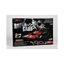AFX AFX22005  AFX Super Cars 3 Piece Track Set