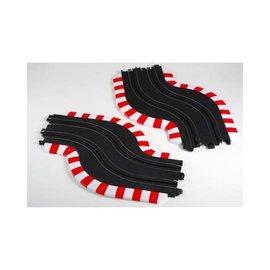 AFX AFX70617  AFX Slot Track Chicane Set L&R