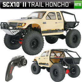 Axial Racing AX90059  1/10 SCX10 II Trail Honcho Brushed Rock Crawler 4WD RTR