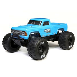 ECX ECX03048T1  Blue 1/10 Amp Crush 2WD Monster Truck Brushed RTR