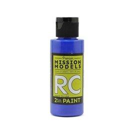 Mission Models MIOMMRC-030  Irdescent Blue Acrylic Lexan Body Paint (2oz)