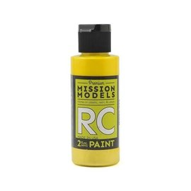 Mission Models MIOMMRC-033  Iridescent Yellow Acrylic Lexan Body Paint (2oz)