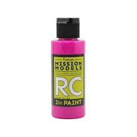 Mission Models MIOMMRC-044  Fluoresent Racing Berry Acrylic Lexan Body Paint (2oz)
