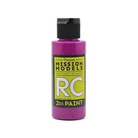 Mission Models MIOMMRC-049  Fluorescent Racing Violet Acrylic Lexan Body Paint (2oz)