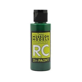 Mission Models MIOMMRC-052  Translucent Green Acrylic Lexan Body Paint (2oz)