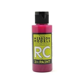 Mission Models MIOMMRC-058  Translucent Pink Acrylic Lexan Body Paint (2oz)