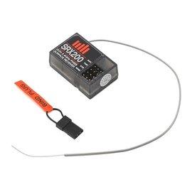 Spektrum SPMSRX200  Spektrum RC SRX200 2-Channel 2.4GHz Waterproof FHSS Receiver
