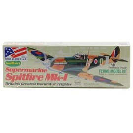 Guillow's GUI504 Supermarine Spitfire Mk-1 Flying Model Kit