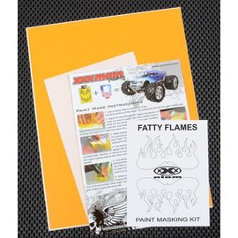 XXX Main M021L Fatty Flames Paint Mask Kit
