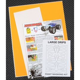 XXX Main M005L Large Drip Paint Mask Kit
