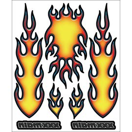 XXX Main R004  Fire Internal Graphics Sticker Sheet