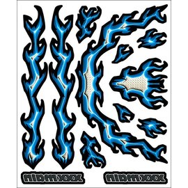 XXX Main R005  XXXtreme Volts Internal Graphics Sticker Sheet