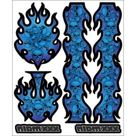 XXX Main R002  Wickedness Internal Graphics Sticker Sheet