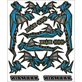 XXX Main R019  Dragon's Wrath Internal Graphics Sticker Sheet
