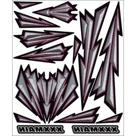 XXX Main R016  Dysfunctional Internal Graphics Sticker Sheet