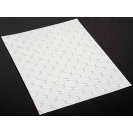 XXX Main V019C Chrome Diamond Plate Decals