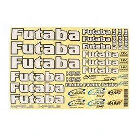 Futaba FUTEBB1179  Futaba White Decal Sheet