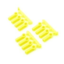 RPM R/C Products RPM73377  RPM Heavy Duty 4-40 Rod Ends (Yellow) (12)