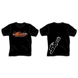 Serpent SER190199   T-shirt Serpent Splash black (3XL)