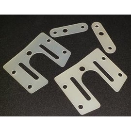 "CRC CLN1585  Precision machined ride shims - WTF-1 (.020, .030"")"