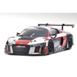 "Kyosho KYOMZP234RGB-B  ASC MR-03W-MM ASC Audi R8 LMS 2016 ""Gray/Red"""