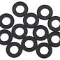 1UP Racing 1UP80302  3x6x0.5mm Precision Aluminum Shims (Black) (12)
