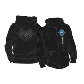 J Concepts JCO2678L  JConcepts 15th Anniversary Skull Hoodie Sweatshirt (Black) (L)