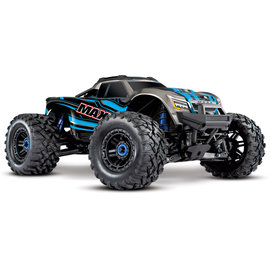 Traxxas TRA89076-4 Blue 1:10 Maxx Monster Truck RTR without Battery & Charger