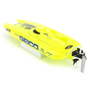"Proboat PRB08019  Miss Geico 17"" Brushed Catamaran RTR"