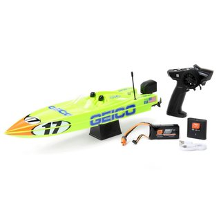 "Proboat PRB08044T1  17"" Power Boat Racer Deep-V RTR, Miss GEICO"