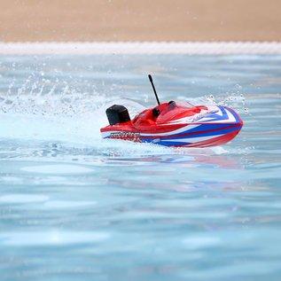 """Proboat PRB08044T2  17"""" Power Boat Racer Deep-V RTR, Lucas Oil"""