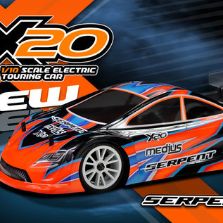Serpent SER400033  Medius X20 1/10 EP Electric Touring Car Kit