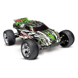 Traxxas TRA37054-1 Green Rustler Stadium Truck RTR w/ Battery/Charger