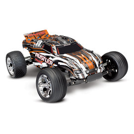 Traxxas TRA37054-1 Orange Rustler Stadium Truck RTR w/ Battery/Charger